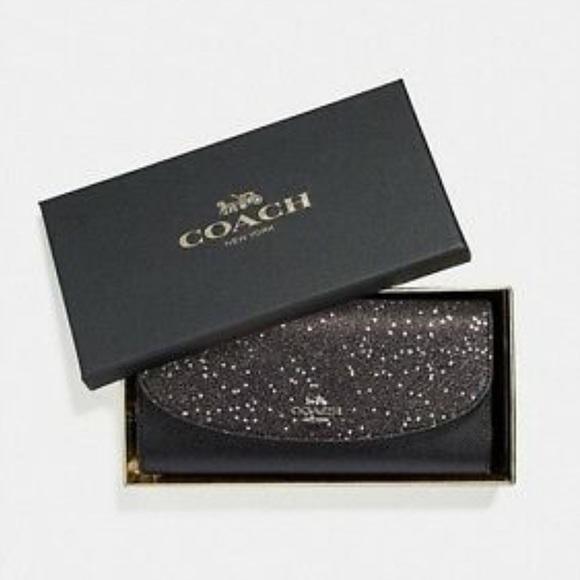 Coach Handbags - Star Glitter Coach Wallet